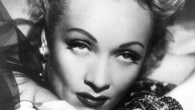 Marlene Dietrich in den Fünfziger Jahren