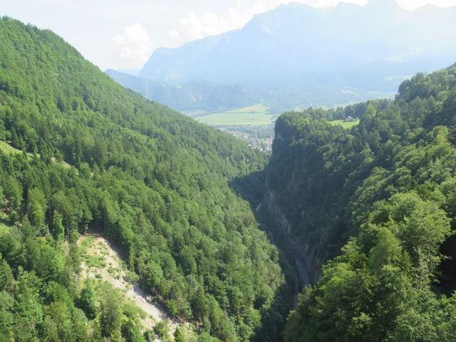 Ausblick Taminabrück