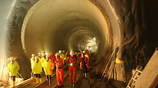 Tunnel da la Neat a Sedrun