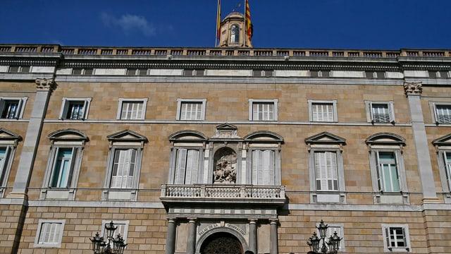 Chasa municipala da Barcelona.
