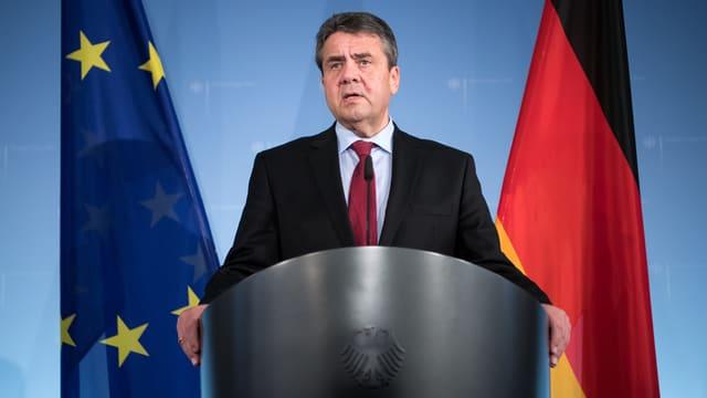 Der deutsche Aussenminister Sigmar Gabriel