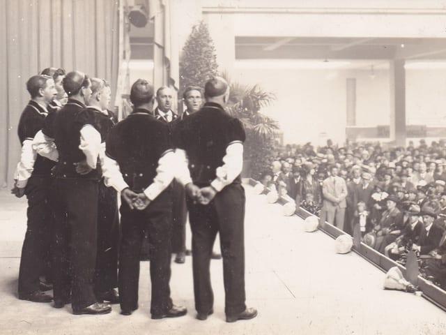 Auftritt von Chor
