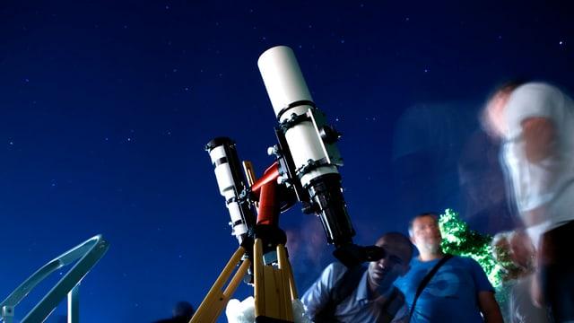 purtret d'in telescop