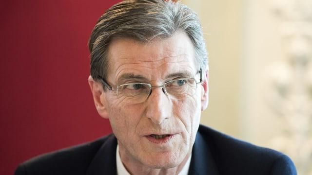 Peter Sutterlüti, Verwaltungsratspräsident von Cargo Sous Terrain