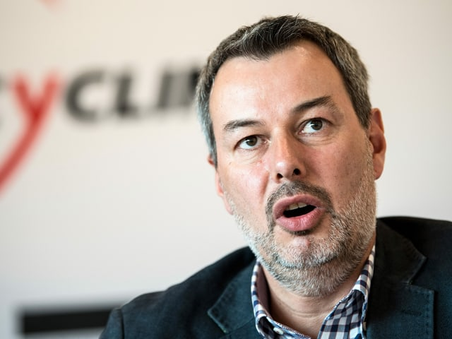 """Will die Tour """"möglichst mittels Copy-Paste ins 2021"""" verschieben: Olivier Senn, Co-Geschäftsführer der Tour de Suisse."""