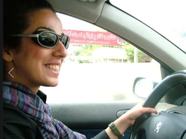 Mit diesem Bild von sich brachte Masih Alinejad am 2. Mai die Aktion ins Rollen.