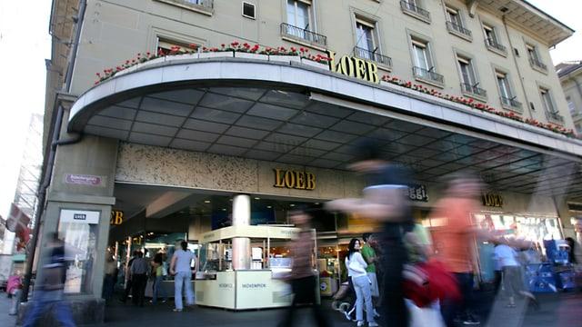 Loeb-Filiale beim Bahnhof Bern.