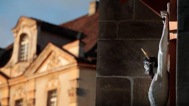 Der Hof des Bistums Chur.