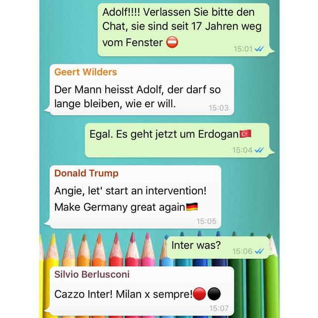 Whatsapp Protokoll