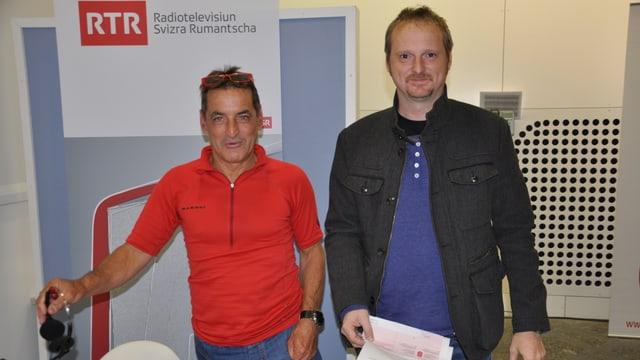Nobert Joos e Clau Scherrer.
