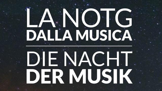 La notg dalla musica.