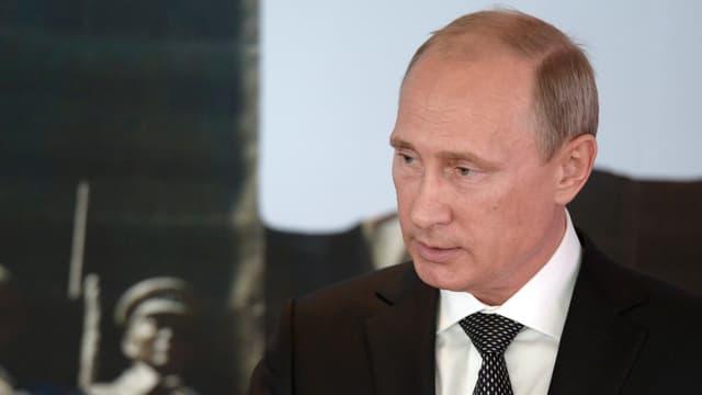 Wladimir Putin bei einer Ansprache während seines Mongolei-Besuchs