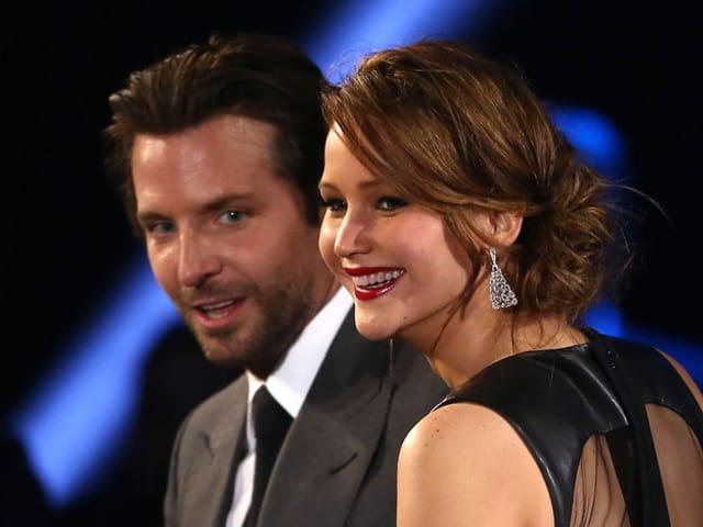 Bradley Cooper und Jennifer Lawrence