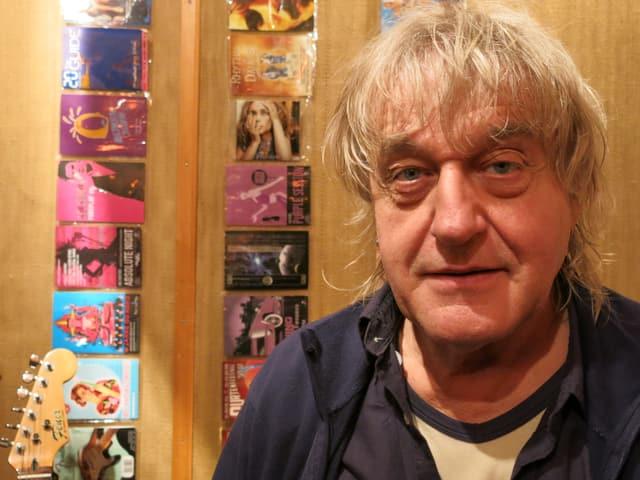 Hanery Ammann in seinem Studio in Interlaken.