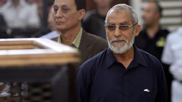 Mohammed Badie en la sala da dretgira