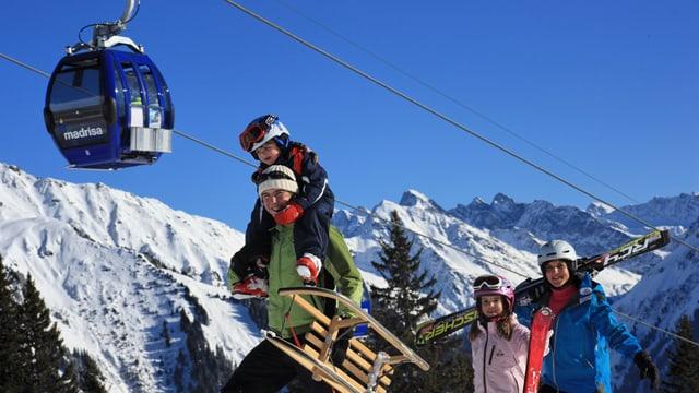 Territori da skis.