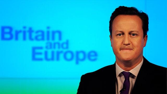 Grossbritaniens Premier David Cameron.