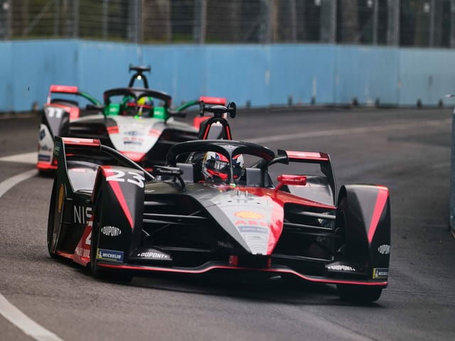 Sébastien Buemi in der Formel E.