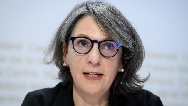 Die Direktorin des Bundesamtes für Gesundheit, Anne Lévy.