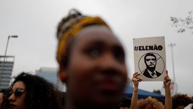 Demo gegen Bolsonaro in Rio, 29.9.2018
