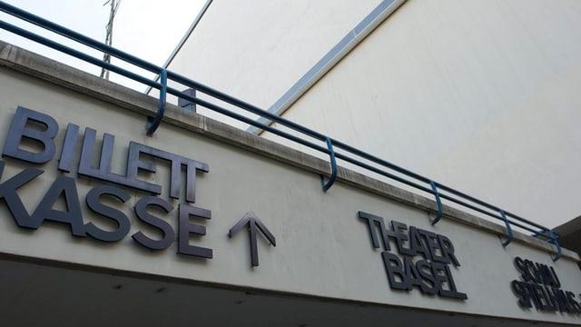 Eingang des Theater Basel.