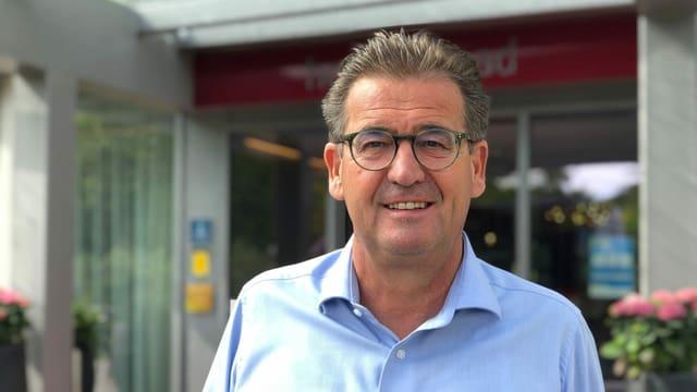 Portrait von Christian Lienhard, Direktor Hotel Hofweissbad
