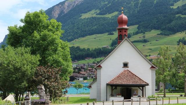 Die Kapelle des Heiligen Beatus in Lungern.