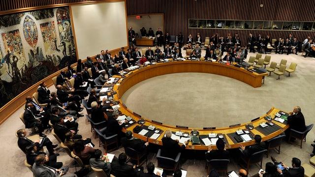 Il Cussegl da segirezza da l'ONU.