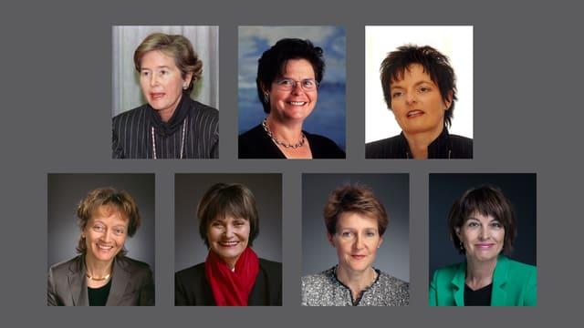 Video «Die 7 Bundesrätinnen» abspielen