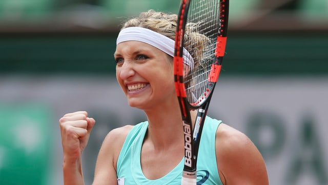 Timea Bacsinszky al French Open da Paris