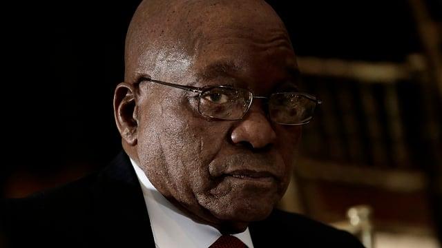 Purtret da Jacob Zuma.