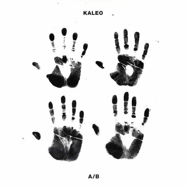 Cover da l'album da Kaleo «a/b»
