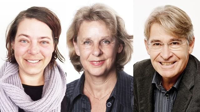 Porträtaufnahmen der Experten