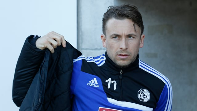 Daniel Gygax spielt die Saison beim FC Aarau zu Ende.
