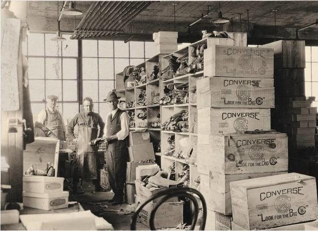 Converse Fabrik