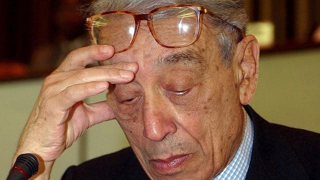 Der ehemalige UNO-Generalsekretär Boutros Boutros-Ghali