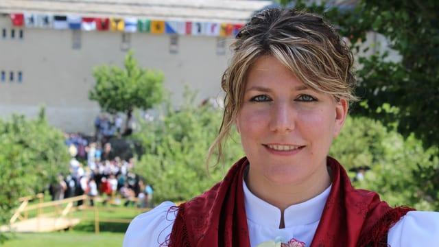Porträt von Manuela Lehner-Mutter.