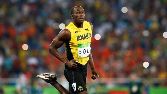Usain Bolt in Rio.