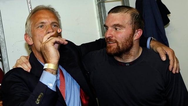 Marc Gianola e Tarzisius Caviezel.