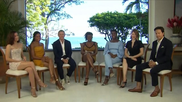 Pressekonferenz auf Jamaika
