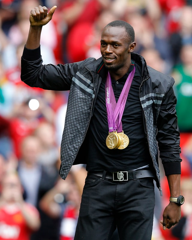 Leichtathletik Star Usain Bolt sagte anerkennend: «Es ist beeindruckend, was die Bayern diese Saison gezeigt haben. Mit so einem Abstand - so früh - in so einer starken Liga Meister zu werden, ist aussergewöhnlich.»
