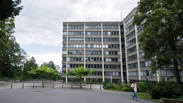 Il bajetg principal da la Procura publica a Berna.