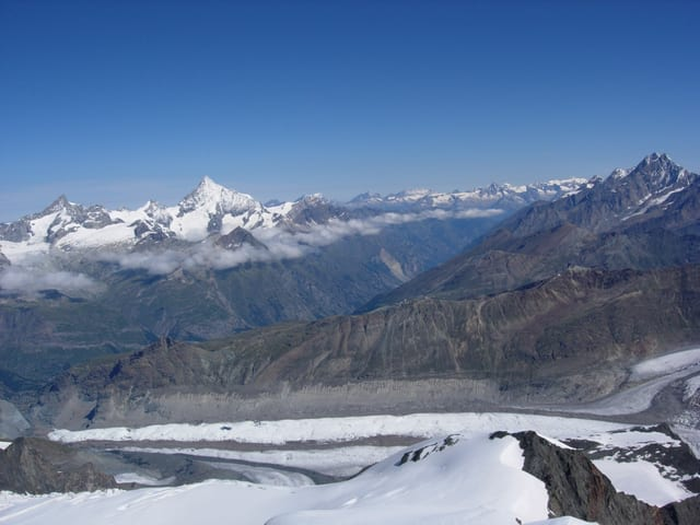 Gletscher in den Alpen