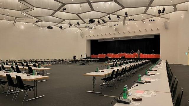 Sala en il center da congress.