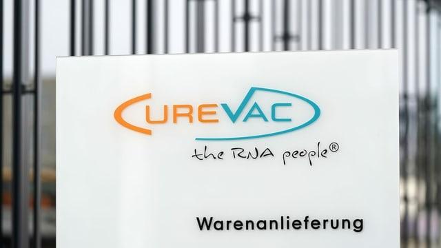 purtret dal logo da Curevac.