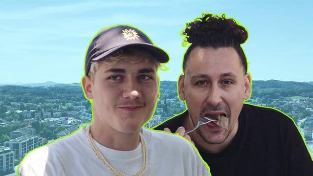 Captain Louis und Host Pablo