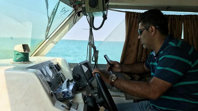 Kapitän Mohammed Allaf Zadeh