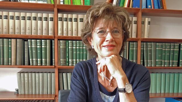 Porträt der Luzerner Anwältin und Wirtschaftsfrau Doris Russi Schurter.