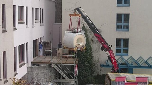 Il nov MRI per il Spital Regiunal Surselva vegn stgargià.
