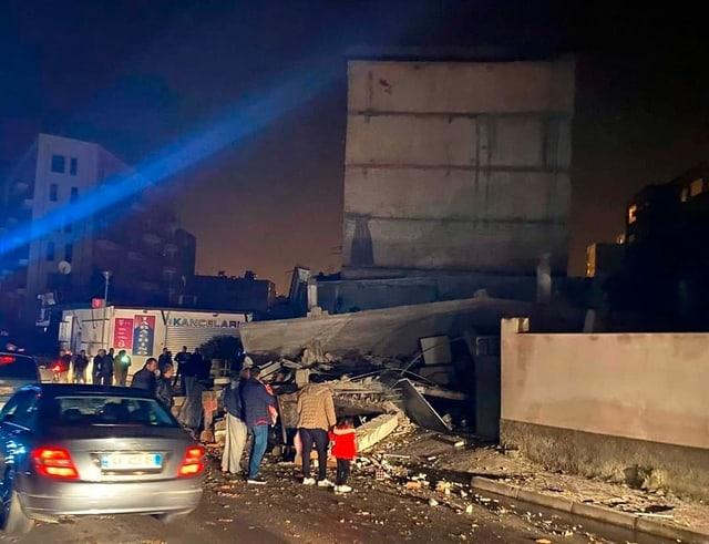 Nahe Tirana: Stärkstes Erdbeben seit Jahrzehnten erschüttert Albanien